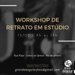 Workshop de Retrato em Estúdio